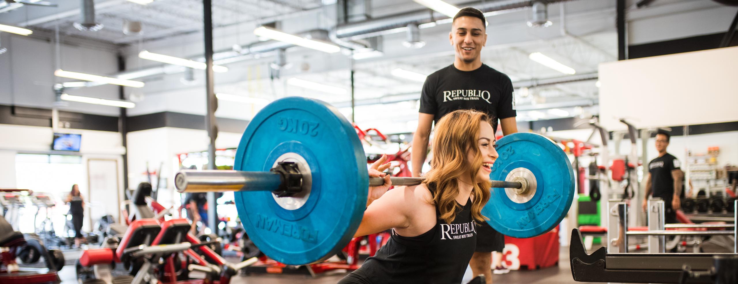 Ricky-Briana-Training